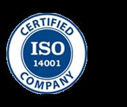 CMI Footer Logo ISO14001 Left