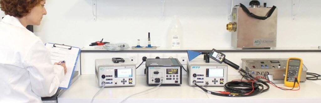 Cleanroom Management International - Calibration - Calibration of ATI photometers